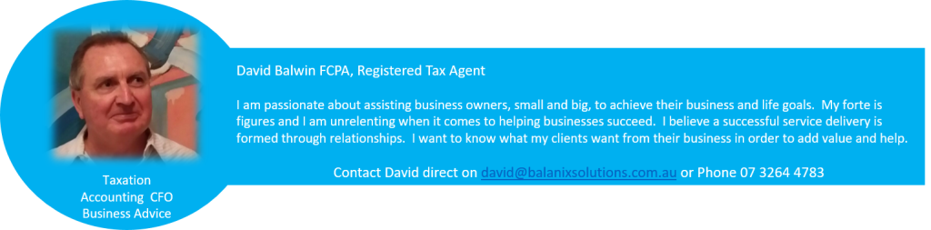 David Balwin Tax Accounting CFO Business Advice