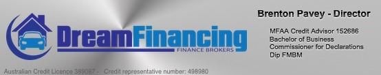 Brenton Pavey Dream Financing