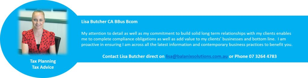 Lisa Butcher Senior Accountant Balanix Solutions