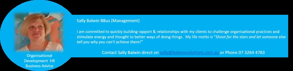 Sally Balwin Balanix Solutions