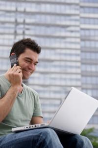 """Businessman contacting Balanix Solutions Useful Links ATO CPA"""
