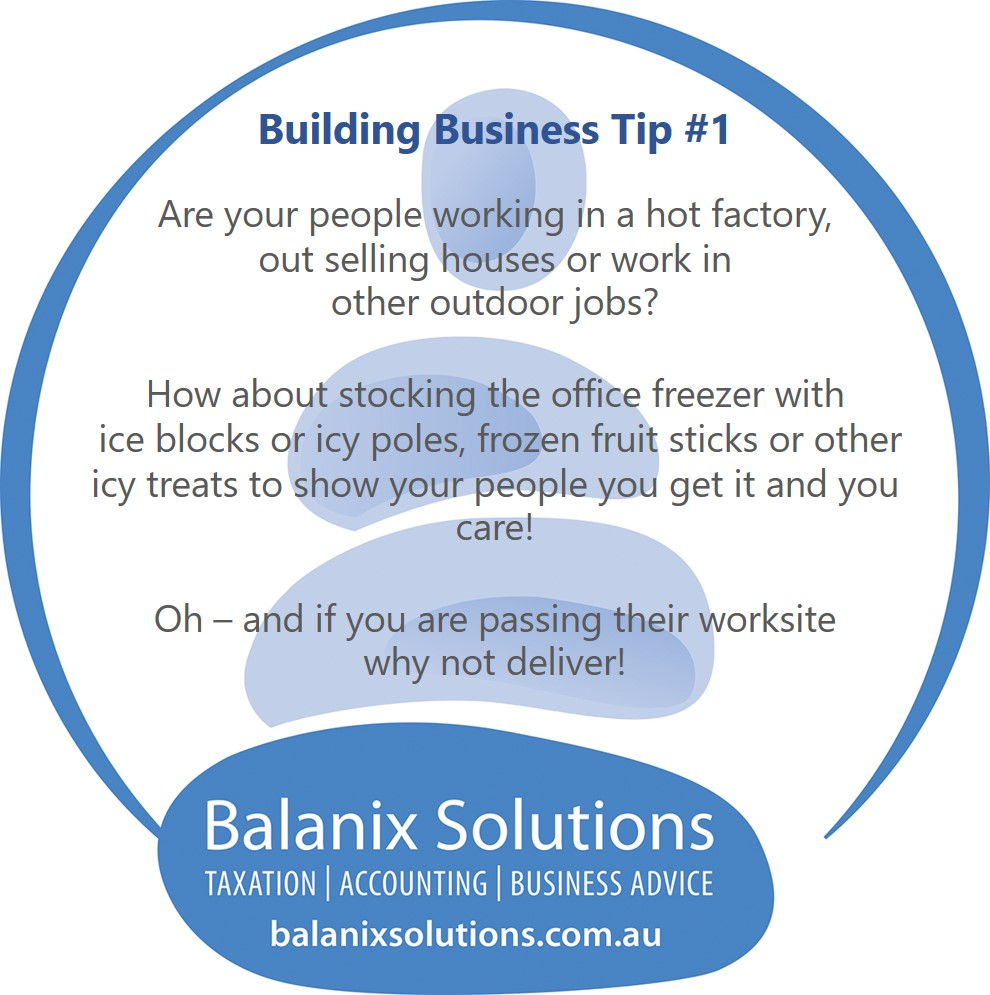 Business Building Tip #1