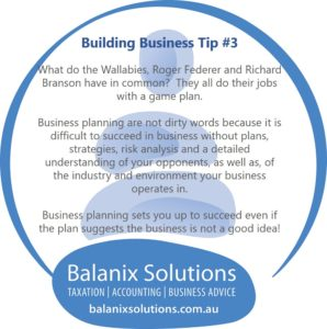 Business Tip Why do business Planning