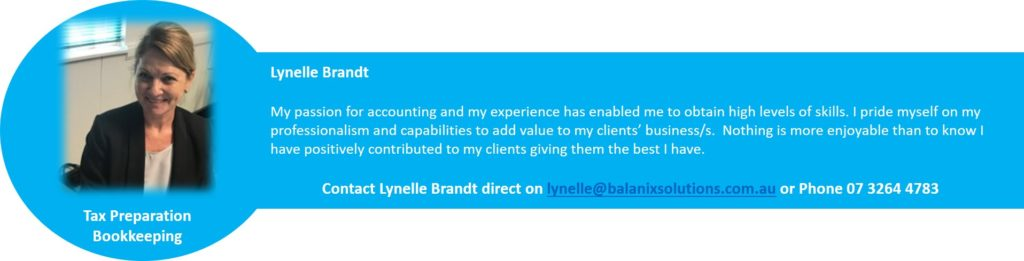 Lynelle Brandt Tax Consultant Balanix Solutions